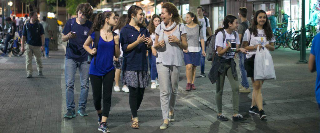 סיורים חברתיים, סיורים לבתי ספר בתל אביב, חברה ישראלית, חטיבת ביניים, תיכון, פעילויות לתיכונים