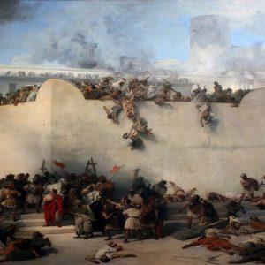 חורבן בית המקדש, ציור של פרנצסקו האייז, 1867