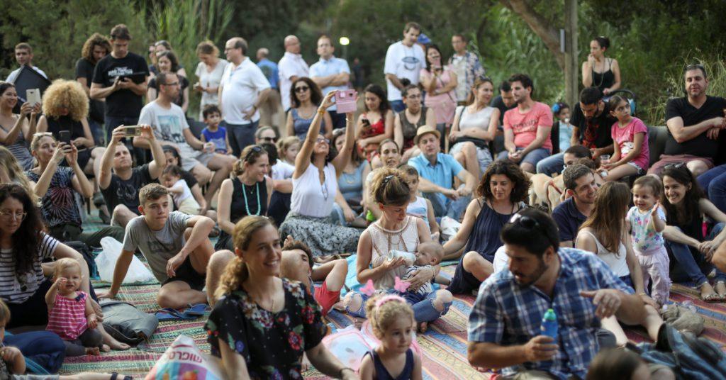 שישי חם, מופע מוזיקלי, תל אביב, שישי, גני הטבע, מה לעשות בשישי
