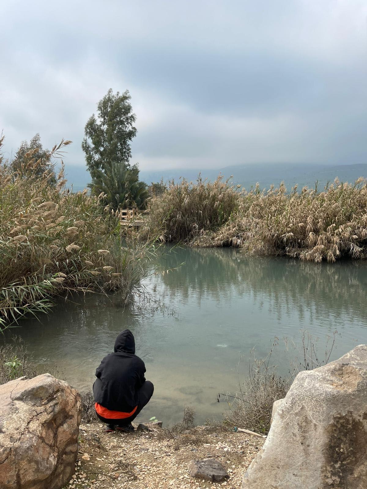 Beit Shean, BINA, home away from home, MITF, Ali Goldberg, teaching English in Israel, river
